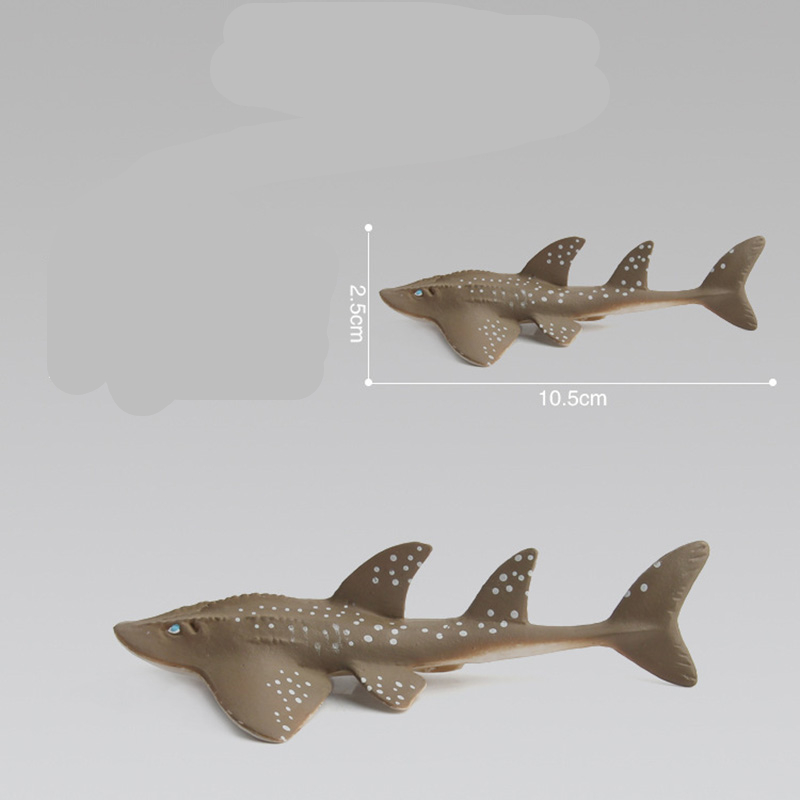 12 Kidns Simulation Shark Marine Animal Figure Collectible Toys Ocean Animal Action Figures Kids Plastic Cement Toys