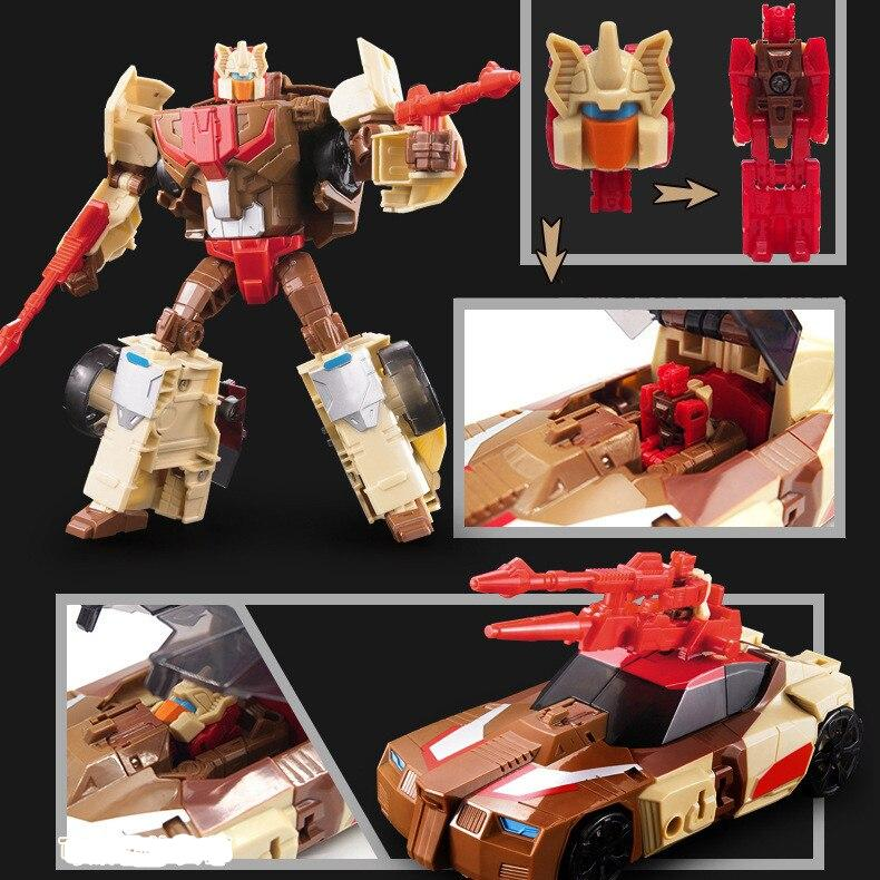 6699 New 20CM NEW Transformation Toys Anime Robot Car Action Figure Plastic Cool Movie Aircraft Engineering Model Kids Boy Gift
